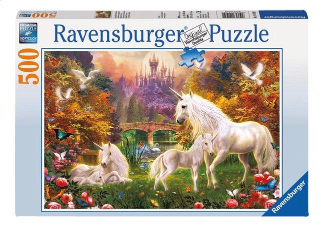 Ravensburger puzzle Les licornes magiques