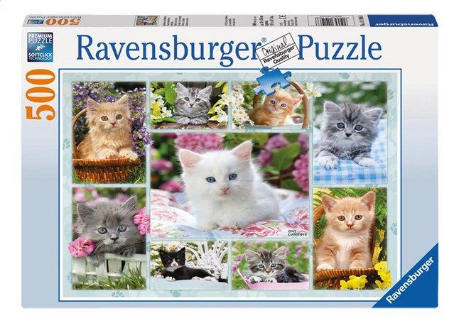 Image pour Ravensburger puzzle Chatons dans leur corbeille à partir de DreamLand
