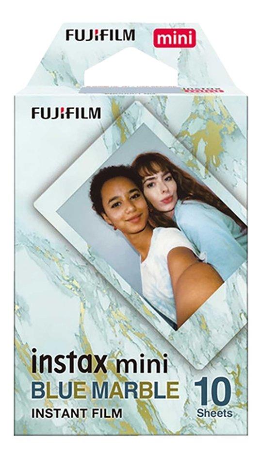 Instax: navulling 10 foto's 'blue marble' (Fuji Film)