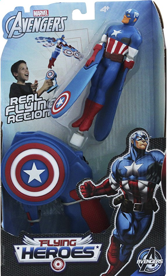 Afbeelding van Figuur Avengers Flying Heroes Captain America from DreamLand