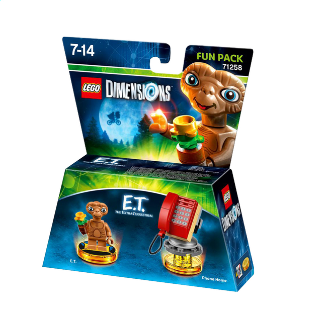 Afbeelding van LEGO Dimensions Fun Pack 71258 E.T. The extra-terrestrial ENG/FR from DreamLand