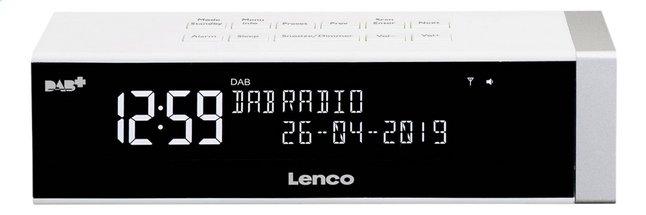 Afbeelding van Lenco wekkerradio CR-630 wit from DreamLand
