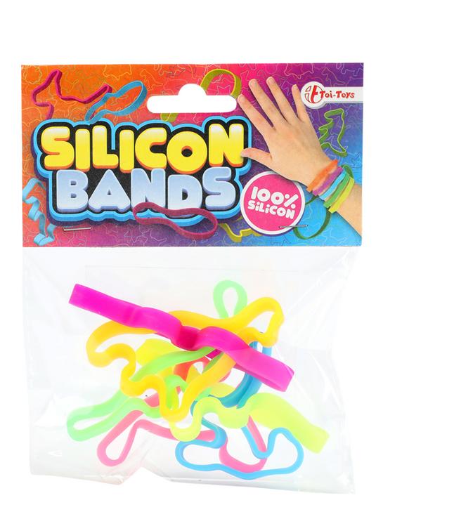 Armband Silicon Bands Pastel - 6 stuks