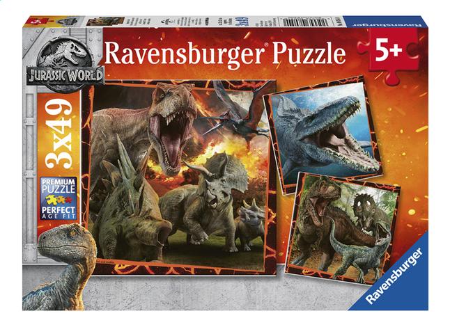 Afbeelding van Ravensburger puzzel 3-in-1 Jurassic World Fallen Kingdom from DreamLand