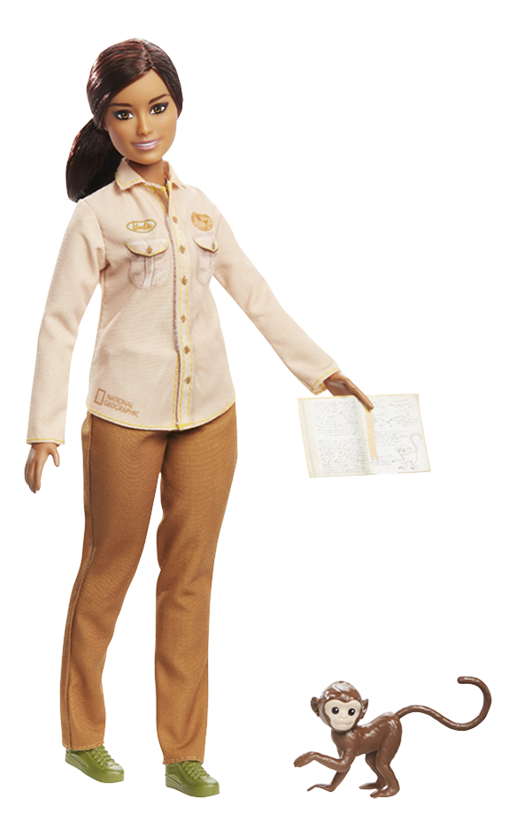 Barbie mannequinpop Careers National Geographic Wilopzichter