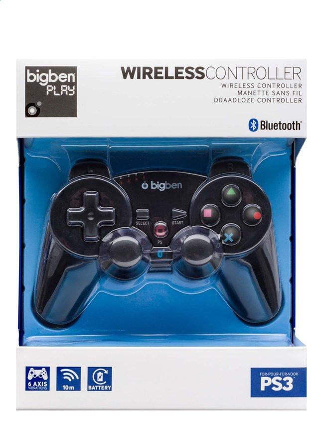 Image pour bigben manette sans fil PS3 noir à partir de DreamLand