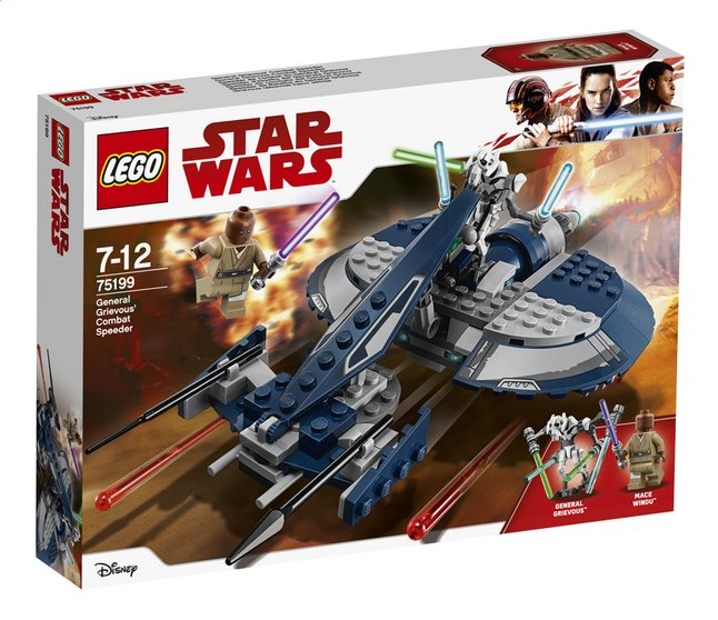 lego star wars 75199 speeder de combat du g n ral grievous dreamland. Black Bedroom Furniture Sets. Home Design Ideas