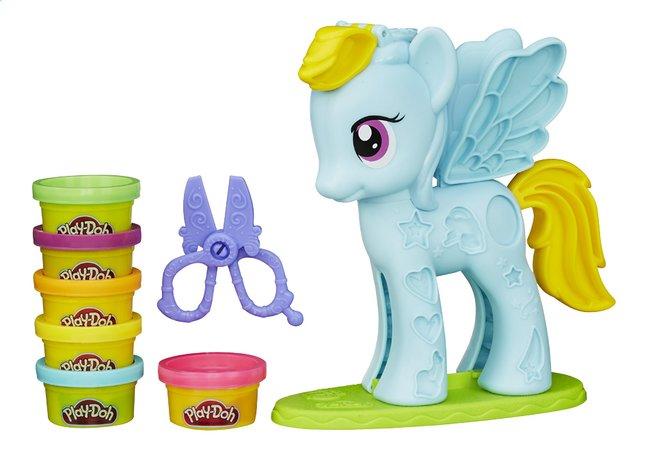 Afbeelding van Play-Doh My Little Pony Rainbow Dash Style Salon from DreamLand