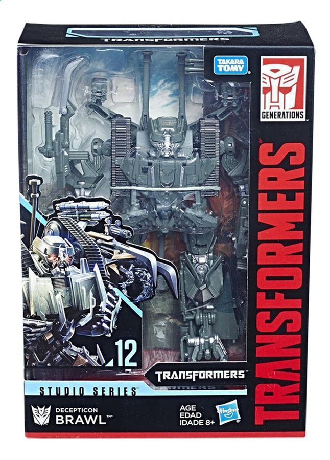Transformers robot Studio Series Decepticon Brawl
