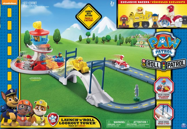 Afbeelding van Speelset PAW Patrol Launch 'n' Roll Lookout Tower Track Set from DreamLand