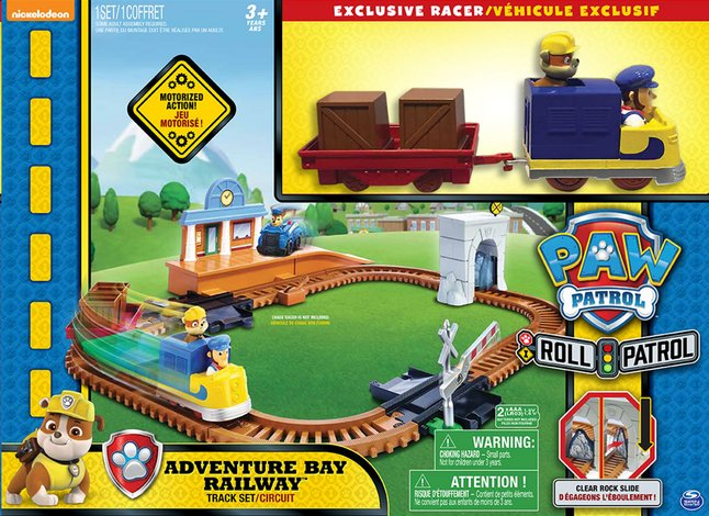 Afbeelding van Speelset PAW Patrol Adventure Bay Railway Track set from DreamLand