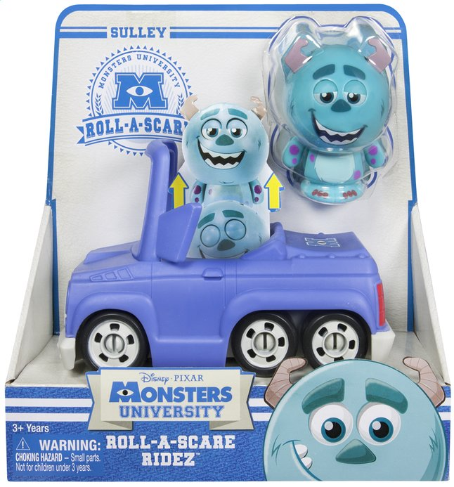 Afbeelding van Monsters University Roll-a-Scare Ridez Sulley from DreamLand