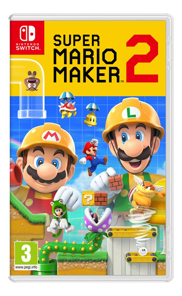 Image pour Nintendo Switch Super Mario Maker 2 FR à partir de DreamLand