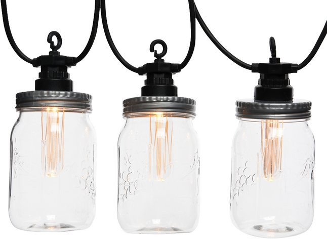 Lumineo slingerverlichting led 10 lampjes Jar