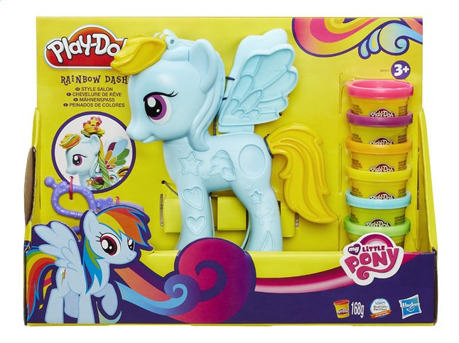 Afbeelding van Play-Doh My Little Pony Rainbow Dash Style Salon from DreamLand