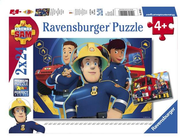 Afbeelding van Ravensburger puzzel 2-in-1 Brandweerman Sam - Sam helpt je uit de brand from DreamLand