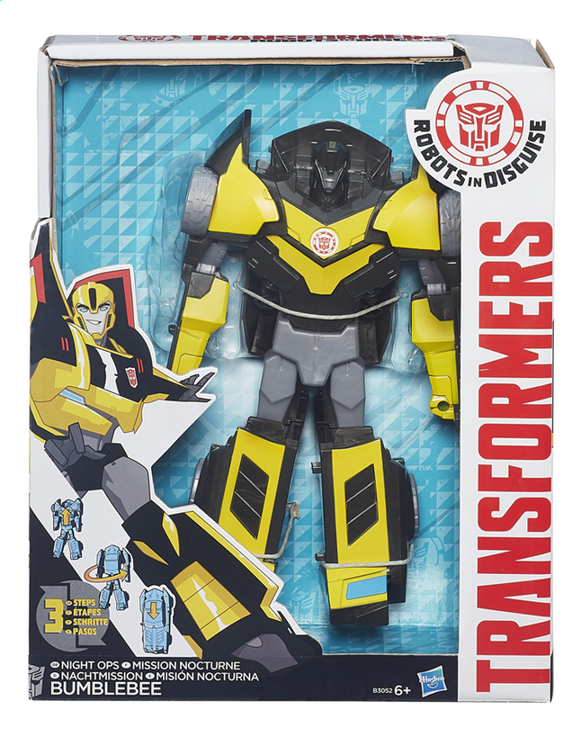 Image pour Figurine Transformers Robots in Disguise Mission nocturne Bumblebee à partir de DreamLand