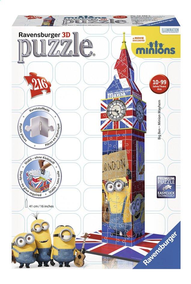 Image pour Ravensburger puzzle 3D Minions Big Ben à partir de DreamLand