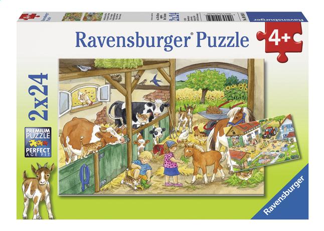 Afbeelding van Ravensburger puzzel 2-in-1 Vrolijk boerderijleven from DreamLand
