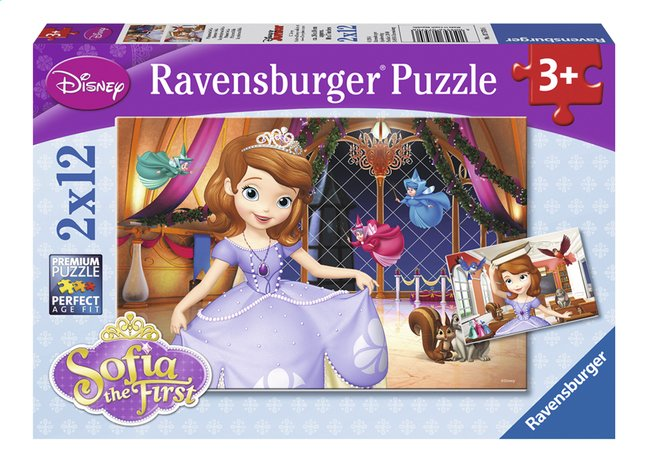 Image pour Ravensburger puzzle 2 en 1 Disney Princesse Sofia à partir de DreamLand