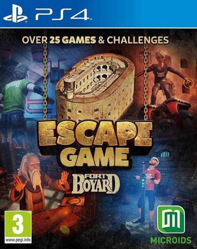 PS4 Fort Boyard Escape Game ENG/FR
