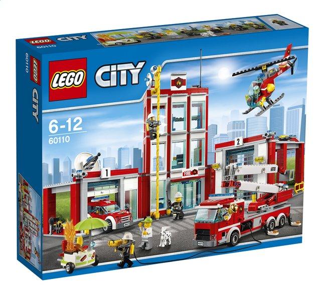 lego city 60110 la caserne des pompiers dreamland. Black Bedroom Furniture Sets. Home Design Ideas