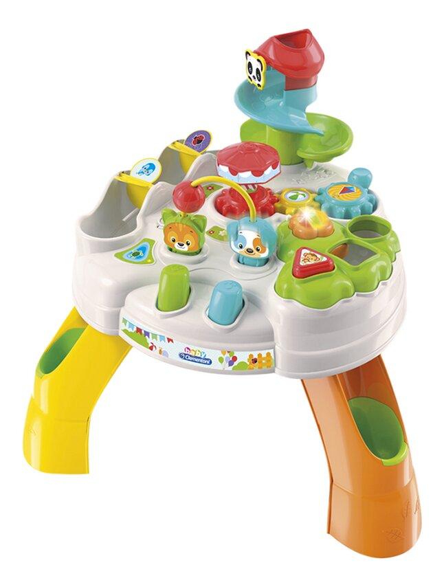 baby Clementoni Table d'activités Parc des animaux