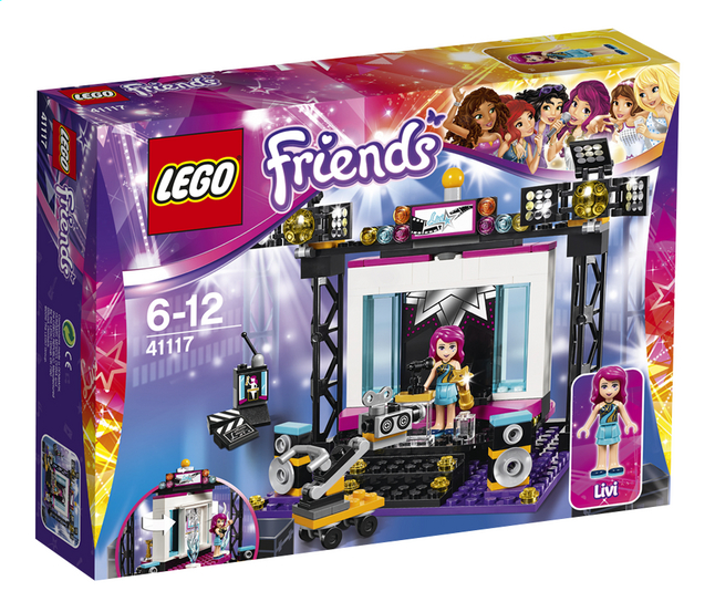 Image pour LEGO Friends 41117 Le plateau TV Pop Star à partir de DreamLand