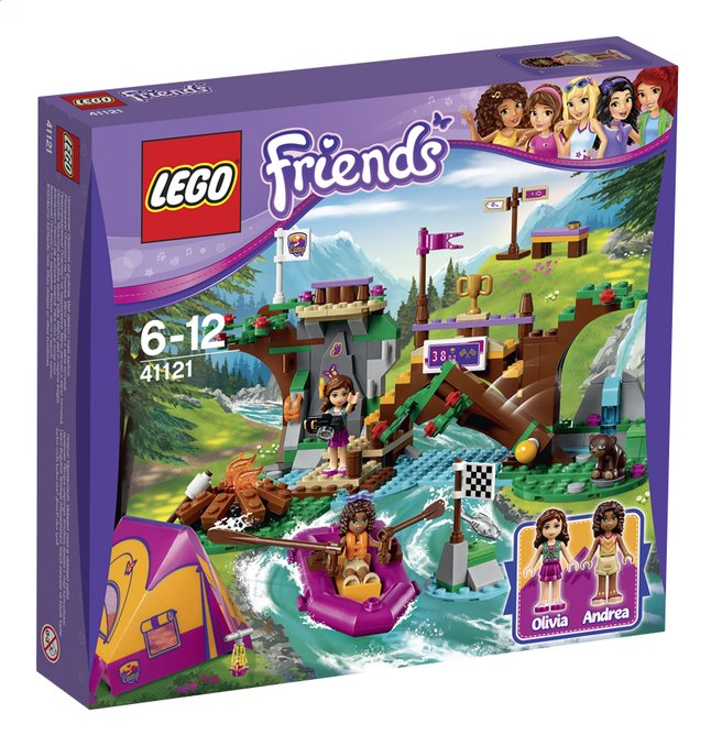 Image pour LEGO Friends 41121 Rafting à la base d'aventure à partir de DreamLand