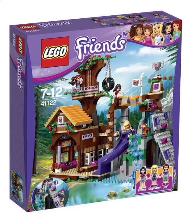 Afbeelding van LEGO Friends 41122 Avonturenkamp boomhuis from DreamLand