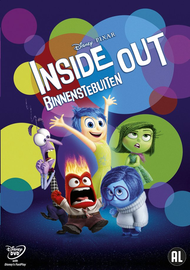Afbeelding van Dvd Disney Inside Out / Binnenstebuiten from DreamLand