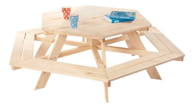 Table de pique-nique pour 6 enfants Nicki