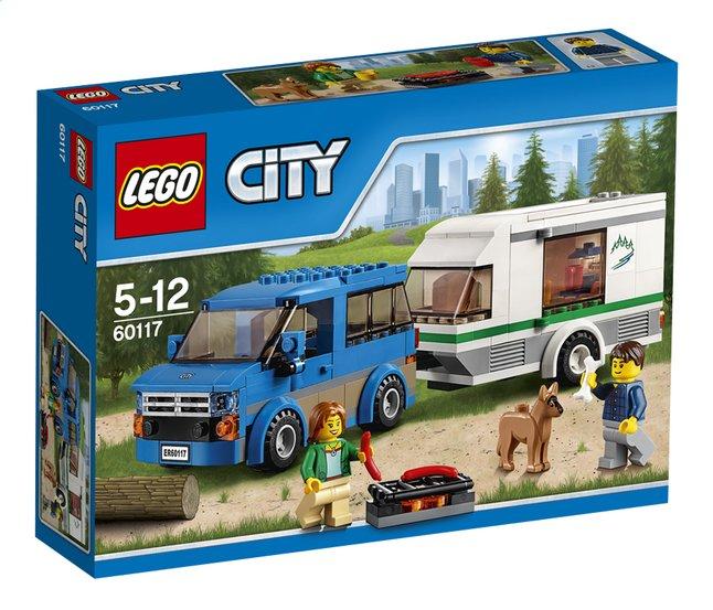 Afbeelding van LEGO City 60117 Busje & Caravan from DreamLand
