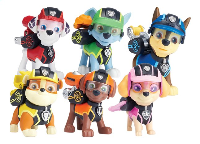 Afbeelding van PAW Patrol Mission Paw - 6 figuurtjes from DreamLand