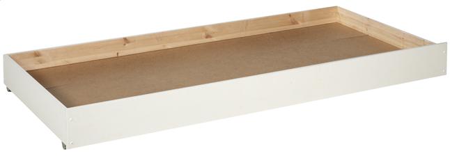 Image pour Tiroir de rangement/lit d'appoint Pino blanc à partir de DreamLand
