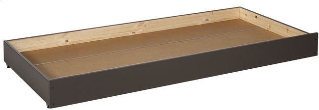 Image pour Tiroir de rangement/lit d'appoint Pino taupe à partir de DreamLand