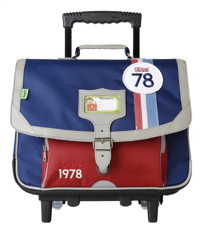 Afbeelding van Tann's trolley-boekentas Boy Beetle 38 cm from DreamLand