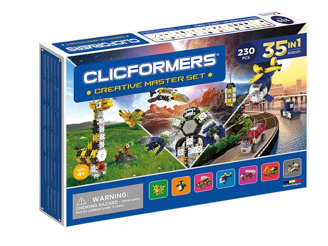 Clicformers Creative Master Set 35-in-1