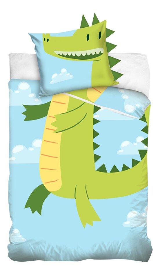 Housse de couette Dragon coton 140 x 200 cm