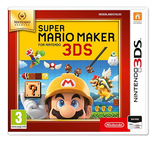 Nintendo 3DS Super Mario Maker Selects NL