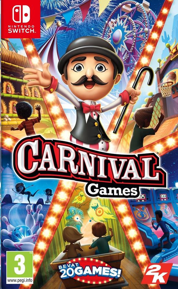 Image pour Nintendo Switch Carnival Games FR/NL à partir de DreamLand