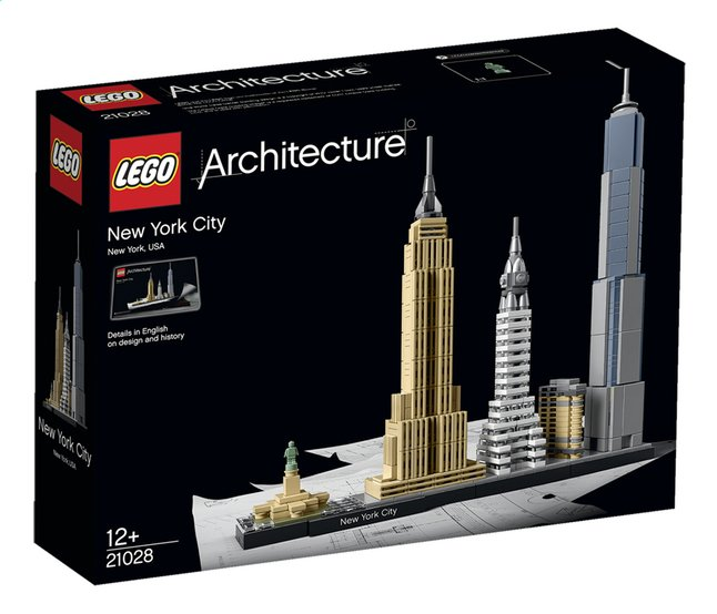 Afbeelding van LEGO Architecture 21028 New York from DreamLand