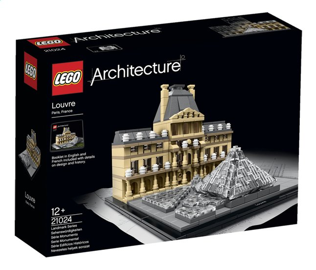 Afbeelding van LEGO Architecture 21024 Louvre from DreamLand