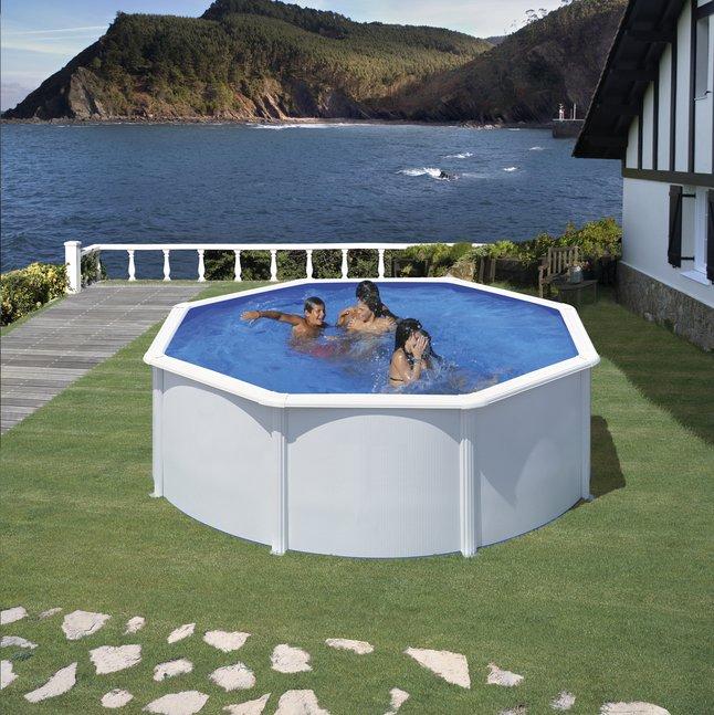 Gre piscine fidji diam tre 3 50 m dreamland for Liner piscine diametre 3 50