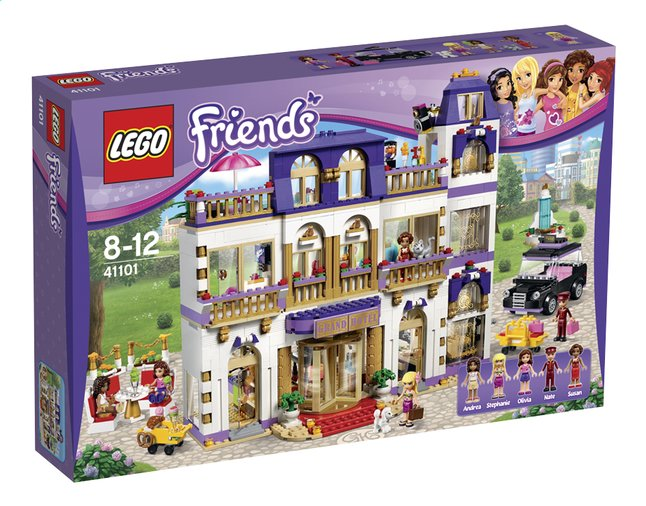 Image pour LEGO Friends 41101 Le grand hôtel d'Heartlake City à partir de DreamLand