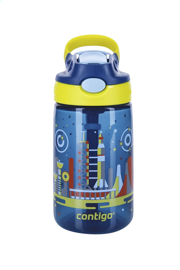 Afbeelding van Contigo drinkfles Gizmo Flip Nautical W/Space 420 ml from DreamLand