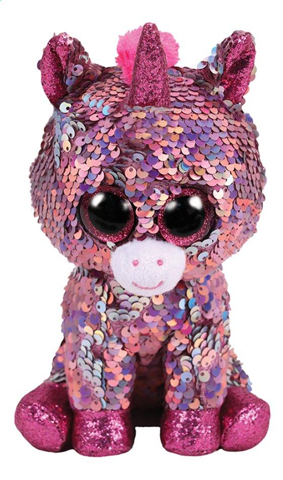 Afbeelding van Pluche TY Flippables Sparkle de eenhoorn 23 cm from DreamLand