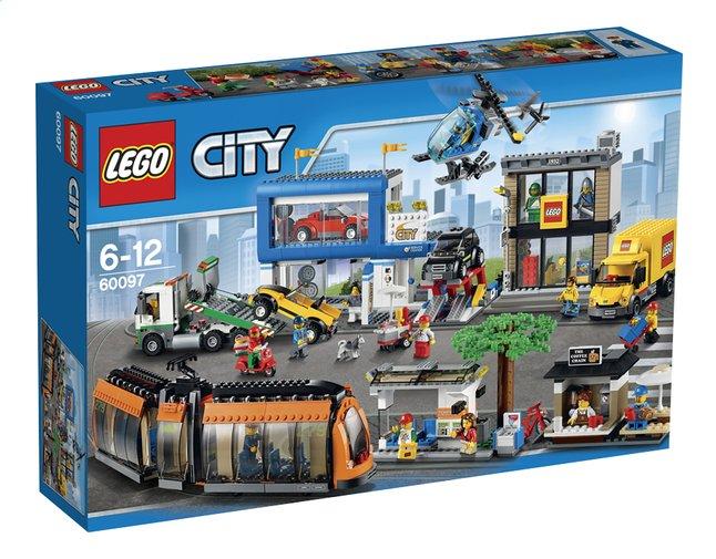 Afbeelding van LEGO City 60097 Stadsplein from DreamLand
