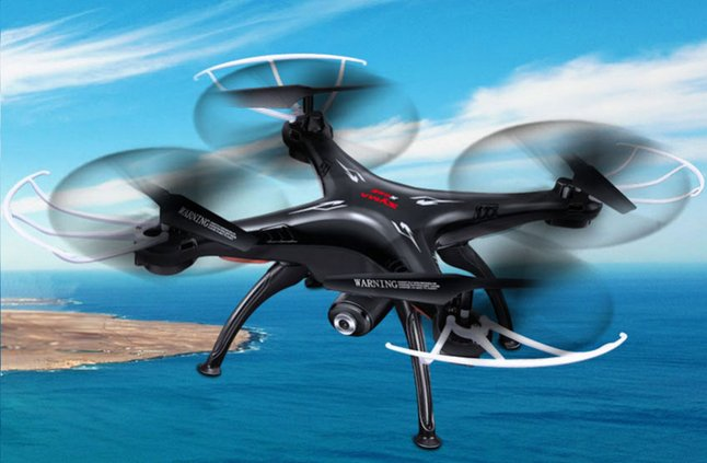 Image pour Syma drone X5SW noir à partir de DreamLand