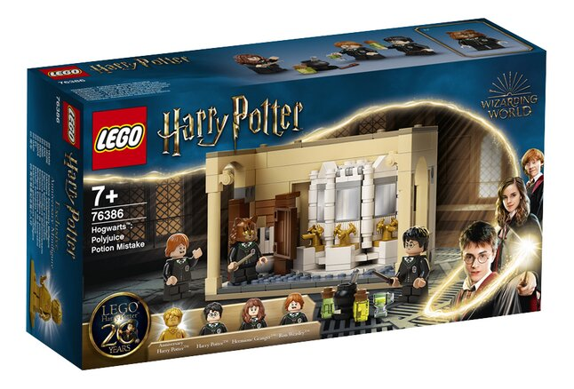LEGO Harry Potter 76386 Poudlard : l'erreur de la potion Polynectar